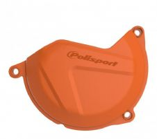 CLUTCH COVER PROTECTOR KTM EXC450/500 12-16, SXF450/500 13-15, FE450 14-16, FC450 14-15 ORANGE